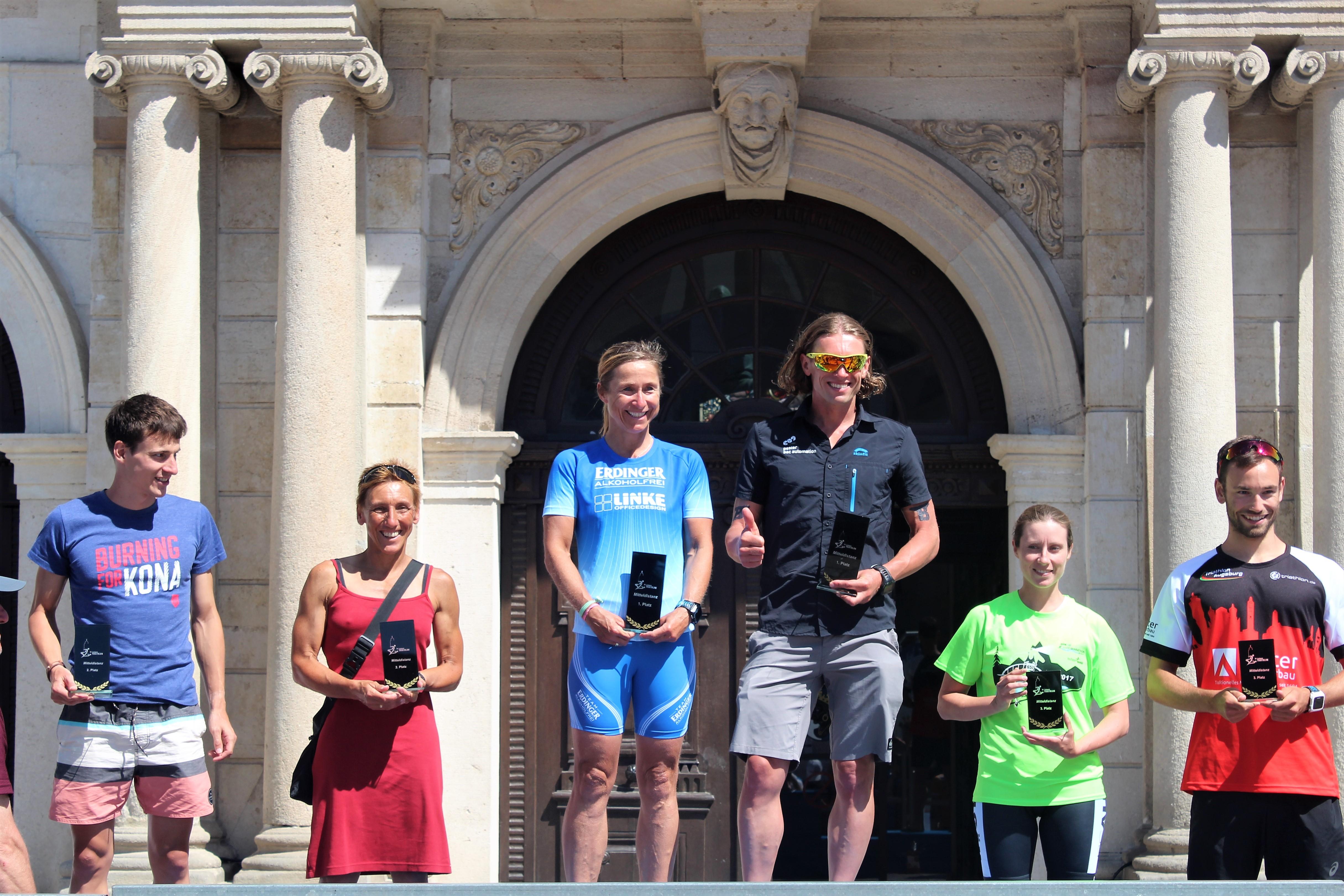 Sieger Mitteldistanz Triathlon Lauingen - Aktuelles