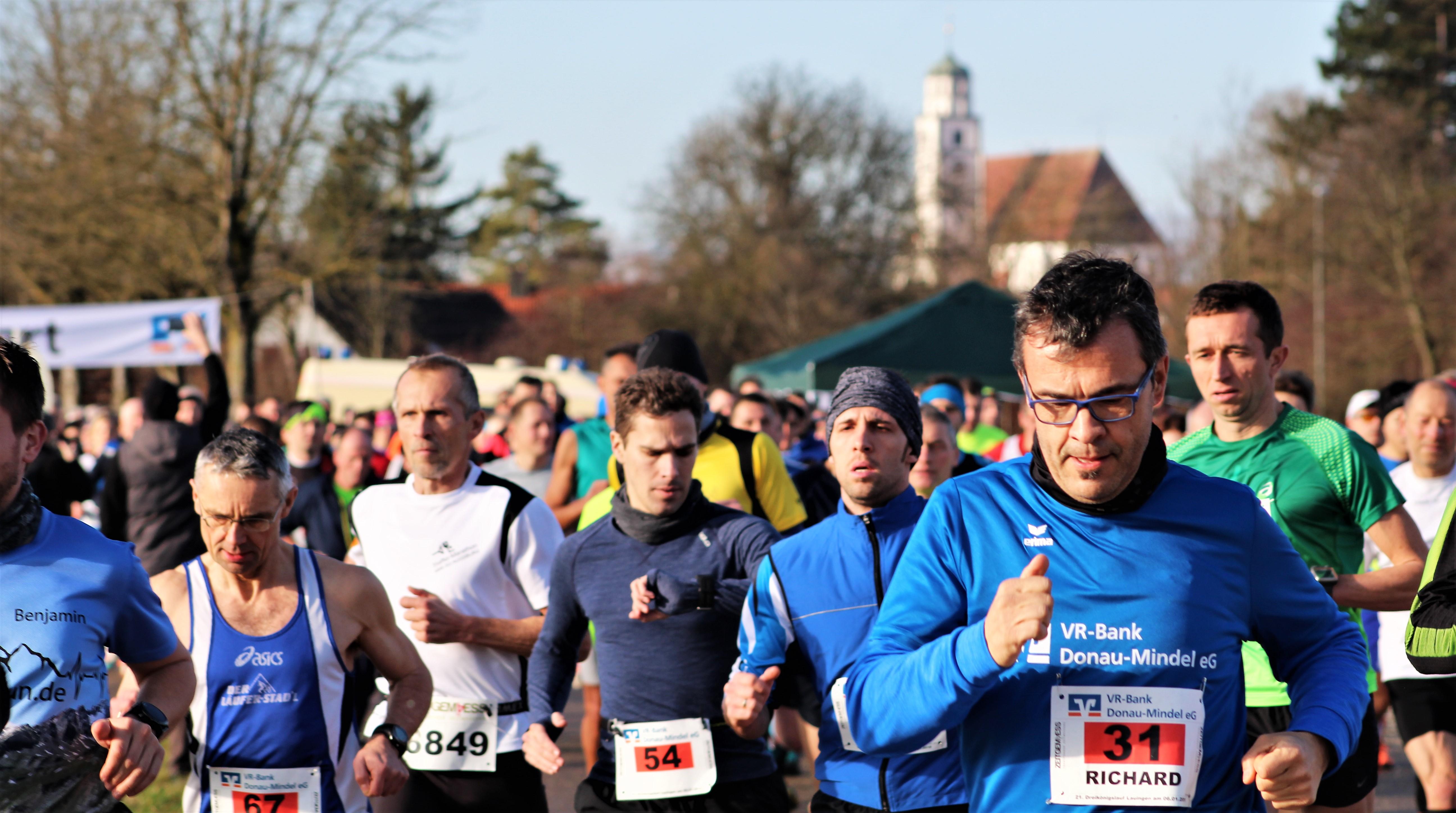 Start - Warum Theo nicht den Halbmarathon lief