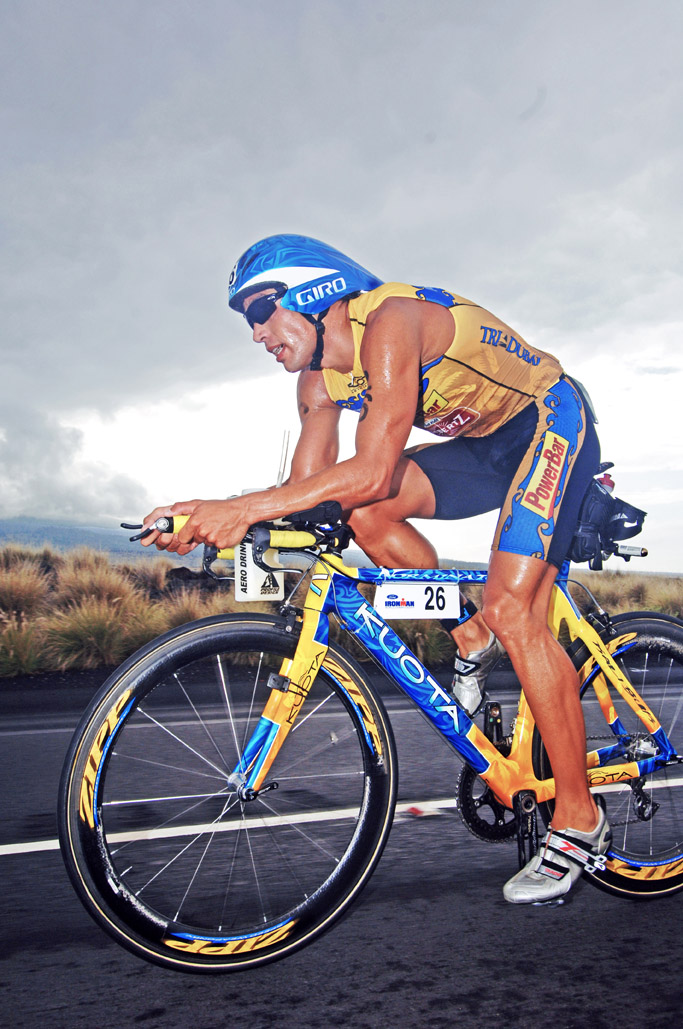 2006 Normann Stadler sets IMH bike record .jpg by Timothy Carlson - Triathlon-Gigant Normann Stadler kommt nach Lauingen