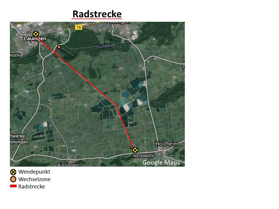Strecke Rad 2015