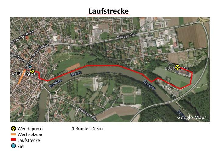 Strecke Laufen 2015